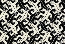 Wallpaper & graphichs / En liten samling av grafikk o.l. særlig M C Escher