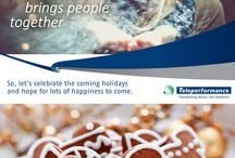Happy Holidays! / Happy Holidays to all our Teleperformance Family