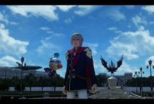 FINAL FANTASY TYPE-0 / Screen video game FF Type-0 PS4