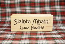 Outlander Rubber Stamps / Create your own special Outlander cards, gift tags, note paper and more with these Scottish themed rubber stamps. Our unique collections includes bilingual Scottish Gaelic designs in eye-catching fonts.