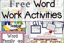 School - Word Work