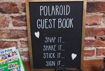 Reception guest book