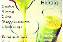 zumos remedio naturales