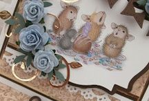 My creations with House Mouse / Just love these little mice!