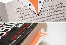 Дизайн книжных закладок