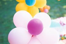 picnic with balloons / just plain fun / by a picnic to go