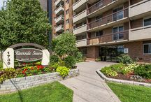 Riverside Towers / Choose a home that offers a special blend of city convenience and natural beauty in central Ottawa. Many of these apartments at Riverside Towers on Riverside Drive (near the Ottawa Hospital- Riverside and General campuses and CHEO) have breathtaking views of the Rideau River, cityscape and Gatineau Hills. Choose from our classic or upgraded suites!  Friendly live-in building staff are on hand to address residents' needs and ensure the premises are well-maintained.