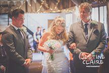 Fitzleroi Barn Wedding / Wedding Photographs taken at weddings at Fitzleroi Barn