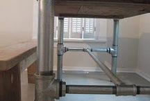Mesa de tubo