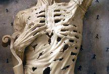 Sculptures: