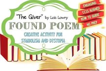 """""""The Giver"""" Lessons and Activities / Lesson plans and classroom activities to use with the novel """"The Giver"""" by Lois Lowry"""