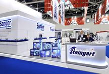 Sanger Exhibition booth at MIMS-2014, Moscow.