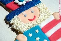 Patriotic Cookies by Sweet Dani B