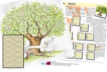 Family Tree Scrapbooking Supplies