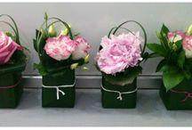 Flower decorations / Alles wat je kan maken van natuurlijke materialen