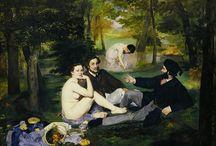 Édouard Manet e suas pinturas impressionistas