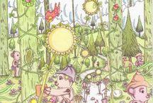 Ecobears Artwork / Ecobears artwork by Gareth Rivett