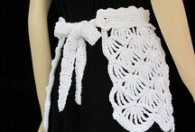 crocheted/knitted aprons / by Samantha Karr-Tom