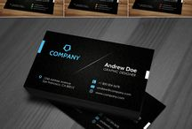 Business Cards Templates / Stylish business cards templates