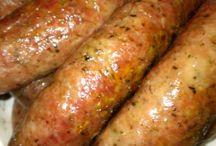 Sausage / All kinds of sausages