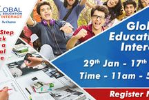 Global Education Fair 2017 / The Chopras welcome all overseas education aspirants to India's largest Global Education fair 2017 to clear all queries related to higher education abroad.