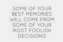 Quotes - Memories