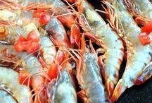 Crevettes/poisson / Crevettes/poissons