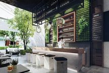 Restaurant decor and design / Ideas
