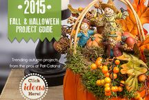 2015 Fall Project Guide / Your fall and Halloween crafts start here! Read our 2015 Fall and Halloween Project Guide for all of the inspiration and projects you need this autumn. / by Pat Catan's Arts & Crafts