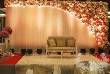 Marriage hall floral decorations