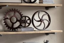 Steampunk pulleys