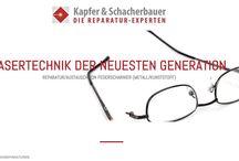 KuS Lasertec - DIE REPARATUR EXPERTEN / Modernste Brillenreparaturen - Durch punktgenaues Laserschweißen lassen sich heute alle Brillenfassungen reparieren. #Brillenreparatur #Brillen #Brillenreparaturen