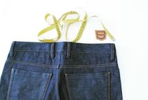 P2 / straight fit jeans