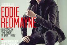 Eddie Redmayne covers