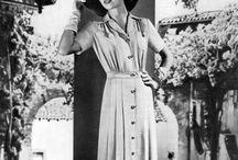 Мода 1940х