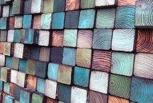 pareti in legno arte e scultura