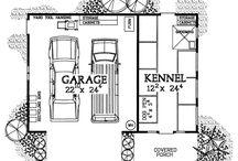 Garage and kennel