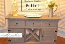 Buffets, media consoles, etc. / Simply Southern ~ Buffets, media consoles, etc.