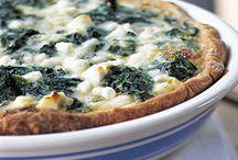 Quiche,pizza,.......
