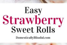 The Best Strawberry Recipes / The best, easy recipes made with fresh or frozen strawberries!