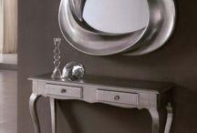 Консоли зеркала