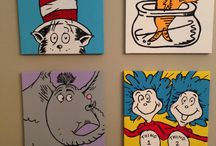 Dr. Suess baby room. / by Courtney Spears