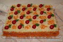 Torta Salgada decorada