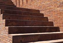 baksteen trappen