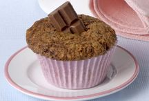 Muffin carrots chocolate