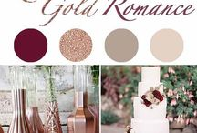 Wedding Color Boards