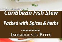 Caribbean food FISH