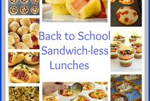 School snacks & lunches / by Sarah Hamlin