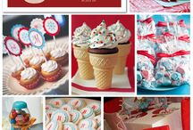Red and Aqua Party / by Paper Crush