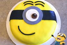 Gâteau Minion